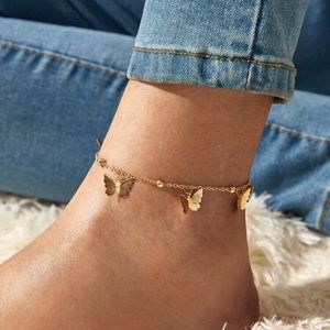 Butterflies Anklet